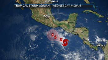 First Tropical Storm of '17 Season Developing