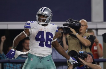 Cowboys RB Morris Making the Most of Opportunity