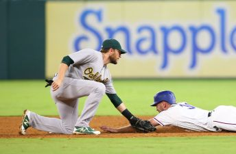 Athletics End Last-Place Season With 5-2 Win Over Rangers