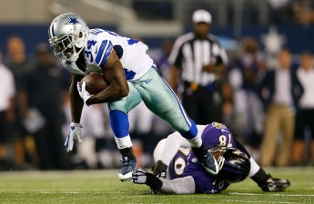 Romo Returns in Cowboys' 37-30 Loss to Ravens
