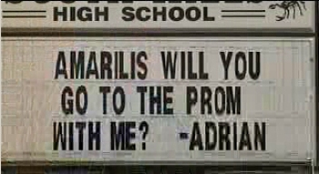 Student Takes Prom Proposal To New Height