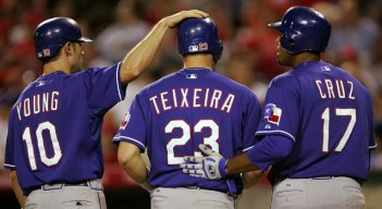 Teixeira Remembers Time With Young As Ranger