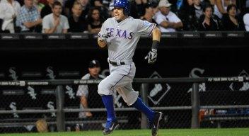 Rangers Hit 5 HRs Vs. Chicago