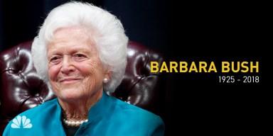 Barbara Bush's Funeral to Be Held Saturday in Houston