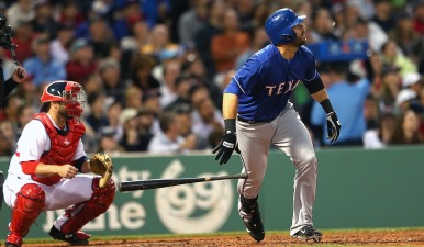 Rangers Keep Red Sox Bats Quiet in 3-1 win