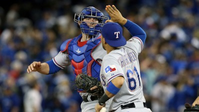 Rangers Beat Blue Jays in 14th, Come Home With 2-0 ALDS Lead