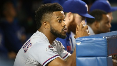 DeShields Moves Back to Leadoff, Gets Same Results