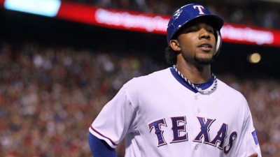 Andrus Catches Home Run Bug