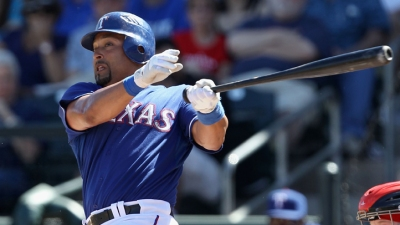 Rangers Hit 4 HRs in 12-5 Win