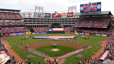 Rangers Lead League in HRs, Avg. Attendance