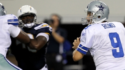 Rivers Sharper Than Romo; Cowboys Lose to Chargers