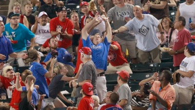Baseball Etiquette: Balls Into Stands