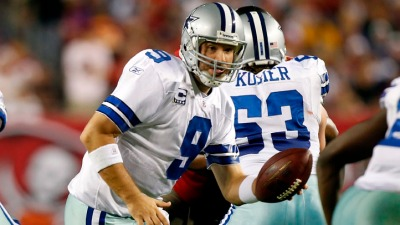 Romo vs. Eli on Different Fronts