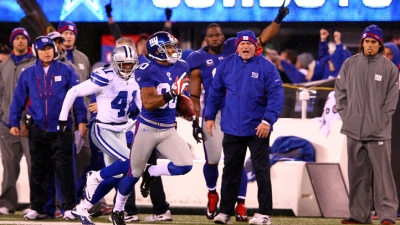 Brandon Carr Doesn't Plan On Victor Cruz Dancing Against Dallas
