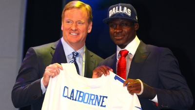 Cowboys Trade Up, Grab Claiborne