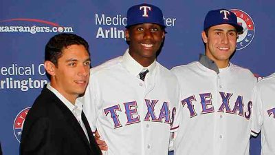 Rangers Land Five On Top Prospect List