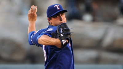 Rangers Set First Three Games' Pitchers