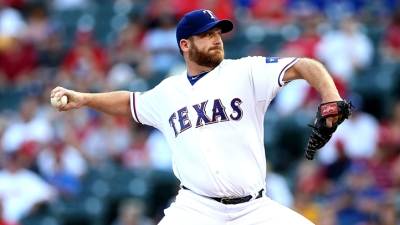 Dempster Leads Rangers to 5-1 Win