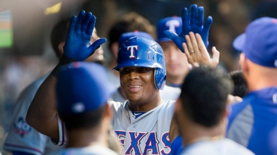 Beltre a Finalist for Hank Aaron Award