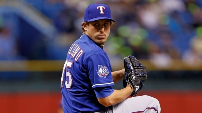 Holland Helps Rangers Top Angels