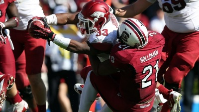Holloman Looks To Make Mark on Special Teams