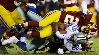 Cowboys' Rushing Game Was Historically Bad In 2012