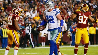Witten Led Cowboys in Red Zone Targets