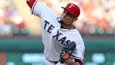 Garza Stays Strong Through Tough Inning