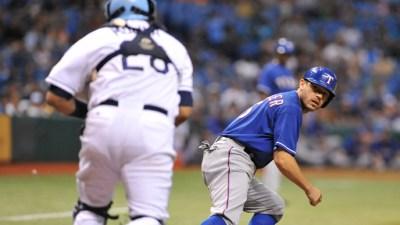 Kinsler Kills Chances On Bases