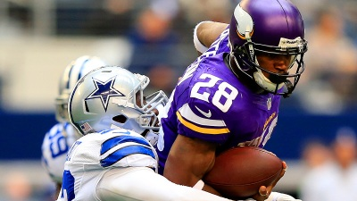 Adrian Peterson: Playing in Texas