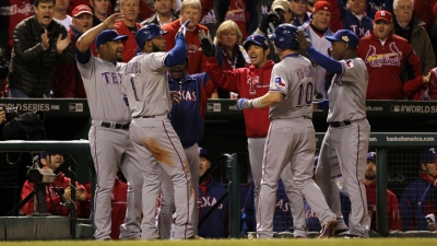 World Series Momentum for Rangers
