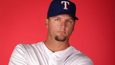 Pierzynski Pinch-Hits, Gets Plunked