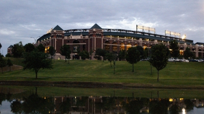 Rangers Ballpark Earns Top-10 Nod