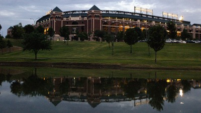 Rangers to Mark 20 Years at the Ballpark