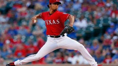 Darvish Set Up for Big Night