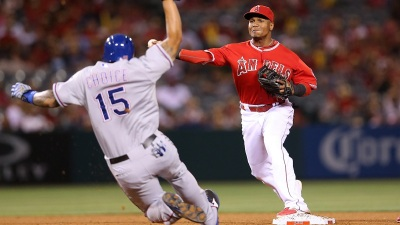 Angels Beat Rangers 7-3