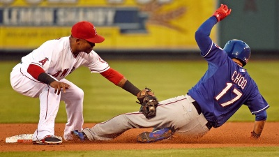 Rangers Fall to Angels in 10 Innings