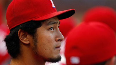 Darvish Struck in Head During Rangers BP