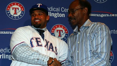 Prince Fielder Introduced at Rangers Ballpark