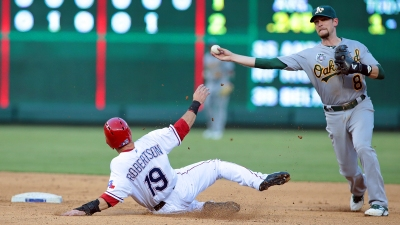 Rangers Struggle Again in Loss to A's