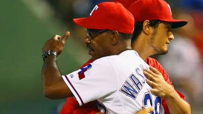 Darvish's Sprays Perfume on Stinky Season