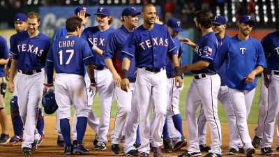Ramos Walks in Winning Run in 14th, Lifts Rangers