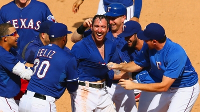 Rangers Get Walk-Off Against Baseball's Best