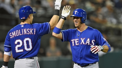 Rangers Beat A's 5-4 Saturday