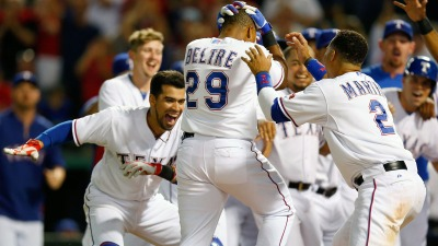 Beltre Has Own Heroics on Jeter's Night