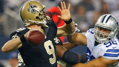 Brees Expected to Start vs. Cowboys