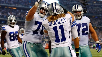 Cowboys, Beasley Agree to Four-Year Deal