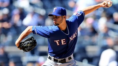 Rangers' Pitcher Already Leading His Team to World Series