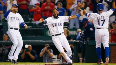 Choo Homer Leads Rangers Past Mariners