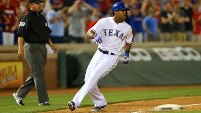 Beltre Suffers Mild Left Quad Strain